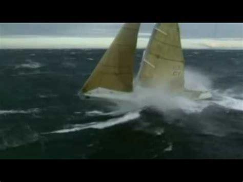 sailing boat in big waves sailing big waves youtube
