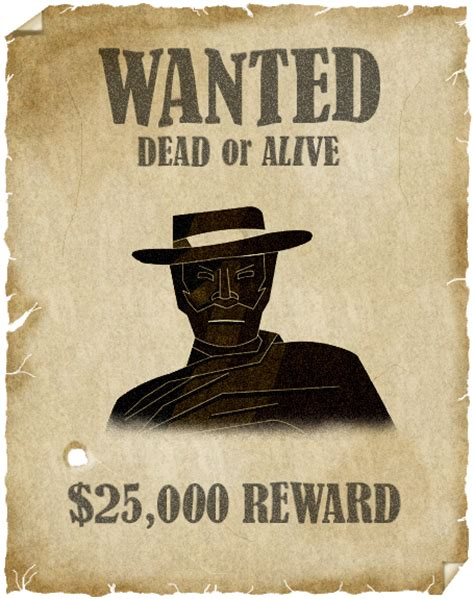 Wanted Search Cowboy Wanted Poster Images Search