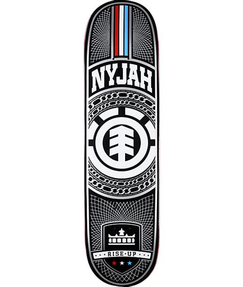 element skateboard decks for sale element nyjah chains silver 8 125 quot skateboard deck zumiez