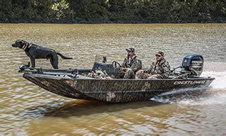 deep v duck hunting boat crestliner s best aluminum duck hunting boats retriever