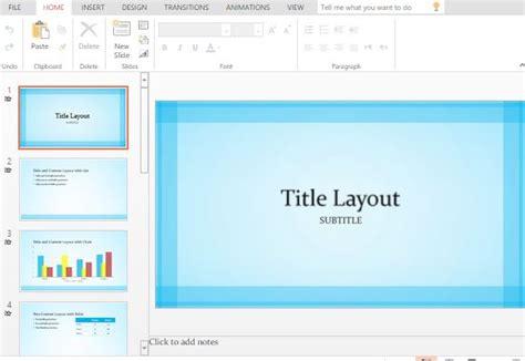 powerpoint widescreen tutorial sheer blue border widescreen powerpoint template