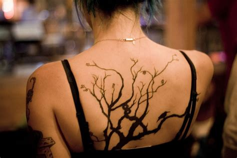 tattoo back tree 30 wonderful halloween tree tattoos designs and ideas