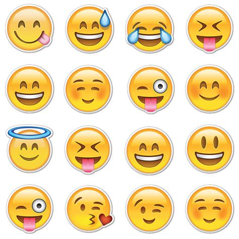 emoji sticker emojistickers com happy smiley emojis fab