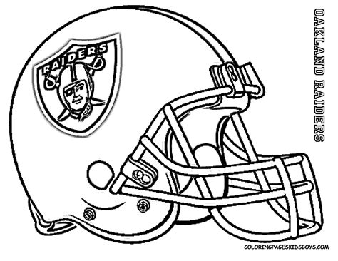 Oakland Raiders Coloring Pages oakland raiders free coloring pages