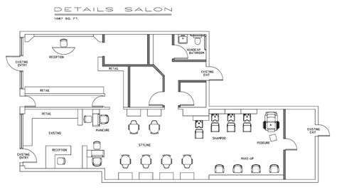 Floor Plan Of A Salon by Salon Floor Plan Design Beauty Salon Floor Plans Friv 5