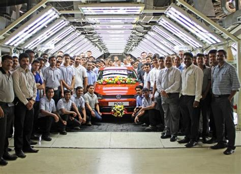 volkswagen pune volkswagen s pune plant rolls out 4 lakh cars team bhp