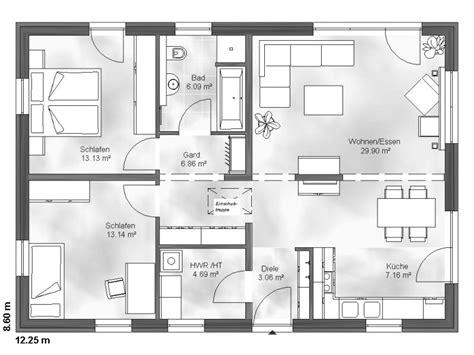 moderne bungalows grundrisse bungalow bauen schl 252 sselfertig und modern