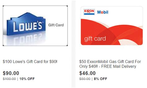 Gasoline Gift Card Deals - gas gift card deals exxon steam wallet code generator