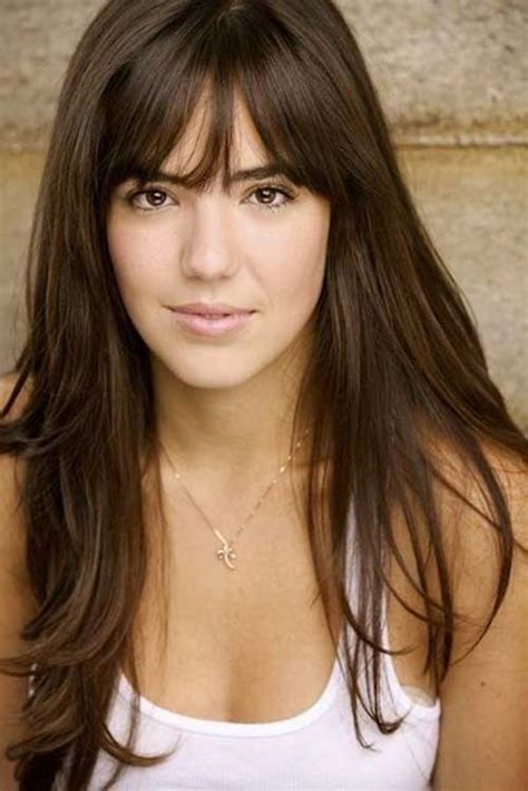 hairstyle with a few bangs 25 hairstyles with bangs 2015 2016 hairstyles