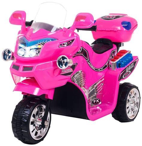 pink kid car lil rider ride on pink three wheeler motorcycle