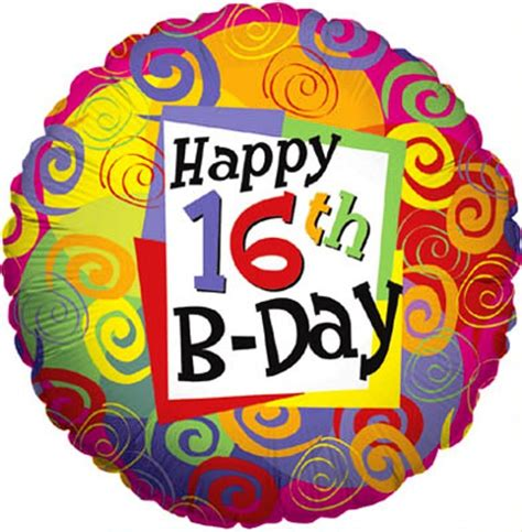 Happy Sixteenth Birthday Wishes Birthday Wishes For Sixteen Year Old Wishes Greetings