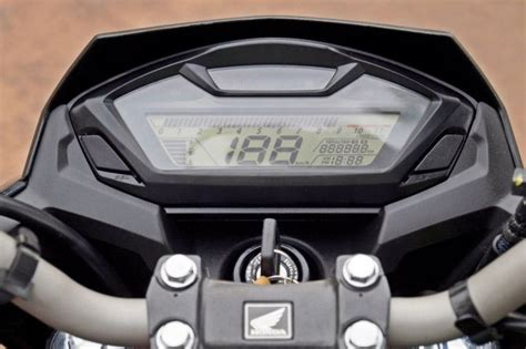 Berkualitas Speedometer Spin Original honda cb hornet 160r ride impressions rediff get ahead