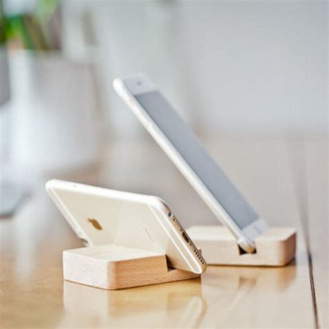 Wooden Smartphone Holder 1 home decoration accessories wood stand for mobile