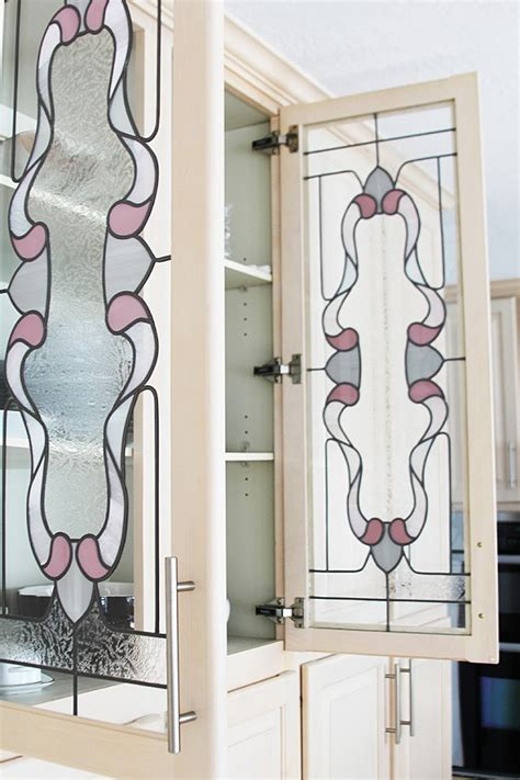 Stained Glass Cabinet Doors Goodbye Stained Glass Hello Updated Doors Withheart
