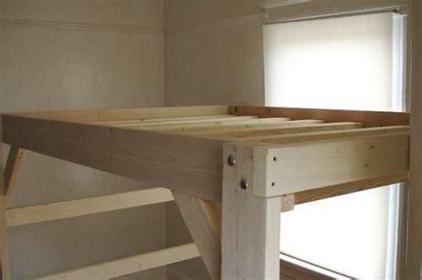 adult bunk bed plans design inspirations  diy loft bed