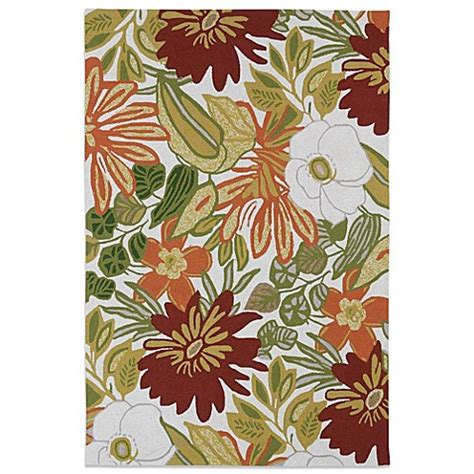 Tropical Outdoor Rugs Kaleen Matira Tropical Indoor Outdoor Rug In Ivory Bed Bath Beyond