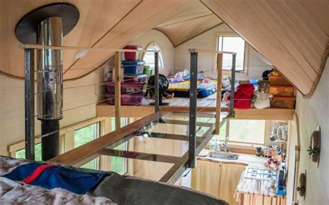 tiny house for 5 the pequod is a whale of a tiny house for family of four