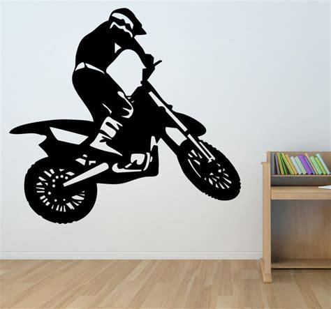 motocross wall stickers sticker motocross tenstickers