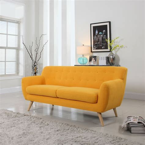 mid century modern sofa living room furniture assorted colors ebay