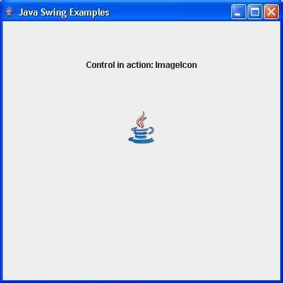 imageicon in java swing exle swing imageicon class