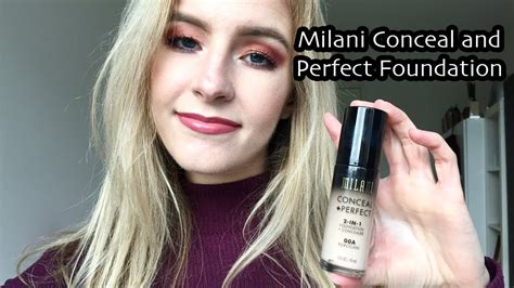Foundation Trisia milani conceal and foundation impression tricia s tests tricia mccoy