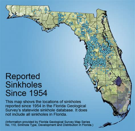 sinkhole map of florida florida sinkhole why is florida prone to large sinkholes