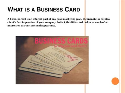 what makes a great business card how to create a great business card