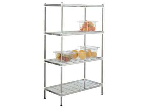 buy stainless steel kitchen wire shelving free delivery
