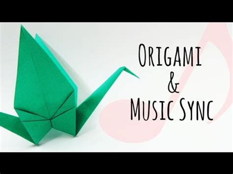 Origami Song - origami and sync