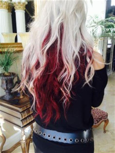 hairstyles blonde on top red underneath hairstyles with blond on top red underneath hairstyle