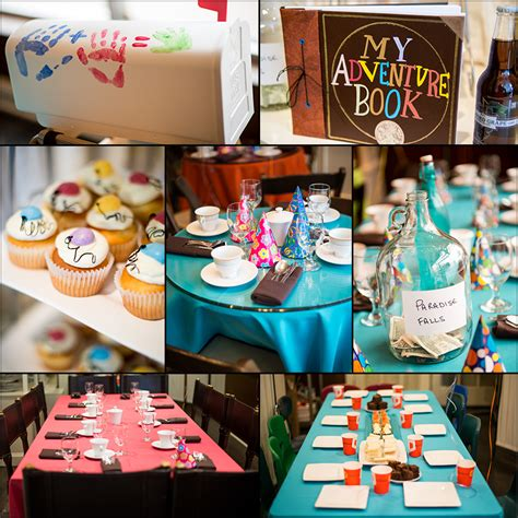 themes in the film up disney up themed birthday party disney up inspired party