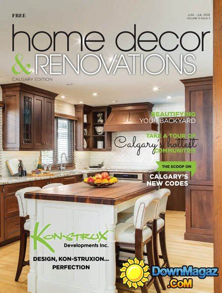 home decor magazines canada home decor renovations canada june july 2015