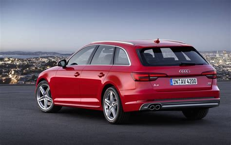 audi a4 2016 2016 audi a4 b9 officially unveiled performancedrive