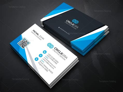corporate card template versatile corporate business card template 000164