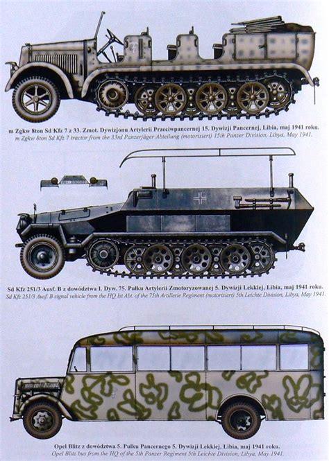 ww2 military vehicles 319 best dak desert war german armour images on