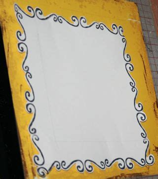 How To Make Paper Borders - banana frog project of the day make your own die