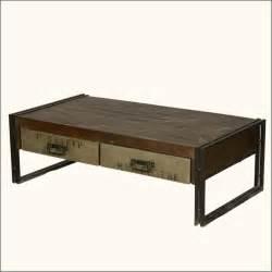 5813 philadelphia modern rustic reclaimed wood metal coffee table