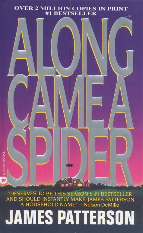 James Patterson Books | along came a spider by james patterson books and