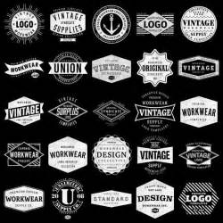 news logo template vintage logo templates vintage aloha backgrounds bundle