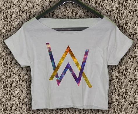 T Shirt Alan Walker 15 alan walker faded t shirt electronic dj crop top