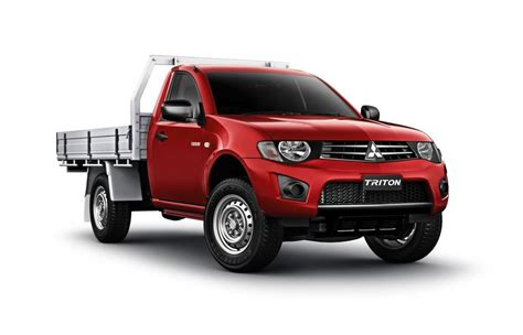 mitsubishi l200 single cab my2013 mitsubishi triton glx single cab