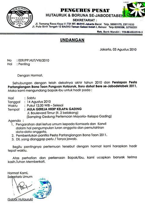 Berita Acara Pertemuan by Info Punguan Hutauruk Jabodetabek Page 4