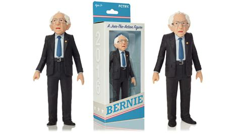 donald doll commercial the bernie sanders figure has more realistic