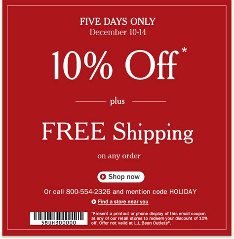 Buy Ll Bean Gift Cards - alicias deals in az ll bean get 10 off and free shipping on everything and a 10