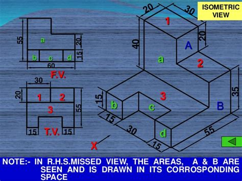 Online Blueprints isometric sketching lect 07 of civil engineering drawing