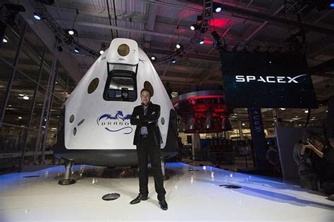 Spacex Dragon Version 2 Capsule How It Works Spacex Powerpoint Template