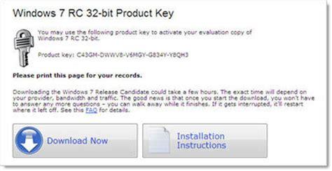 free windows 7 ultimate 32 bit product key page
