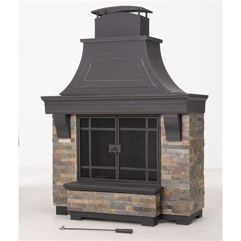 Sunjoy Fireplace by Upc 841057101384 Sunjoy Sanctuary Fireplace Upcitemdb