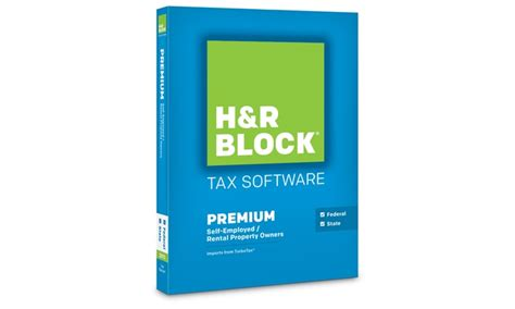 H&R Block Tax Software 2015 Premium + State | Groupon H And R Block 2015 Tax Software Deals