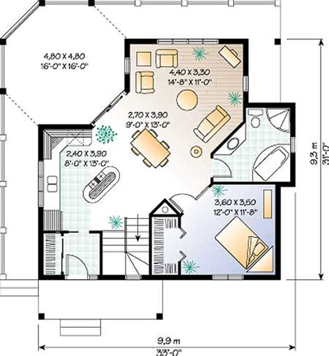 one floor bungalow house plans cottage floor plans and designs cottage house plans one